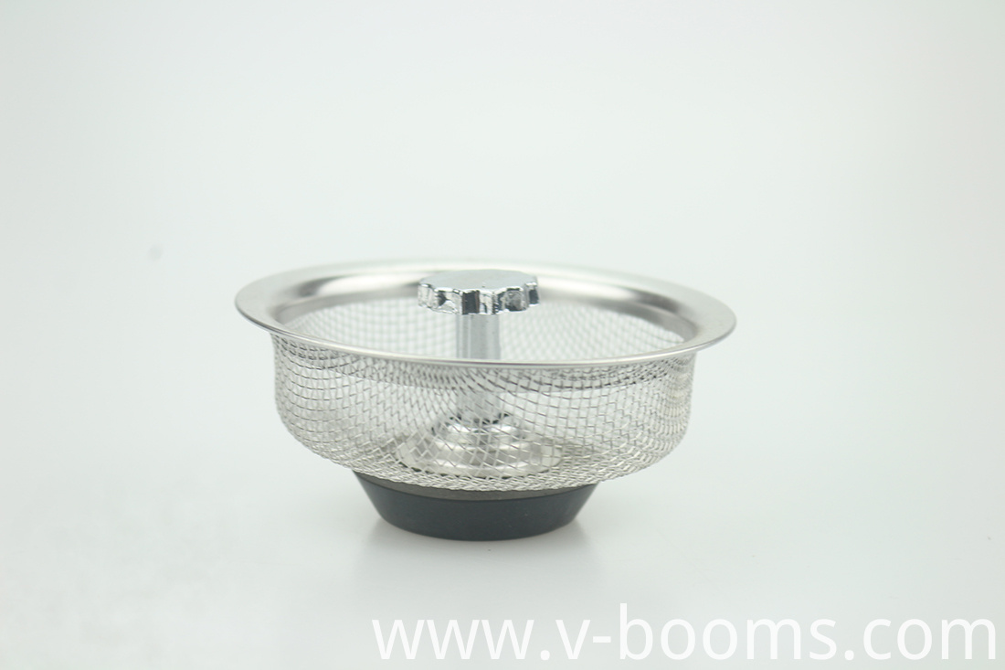 Stainless Steel Drain Basket For Kitchen Use