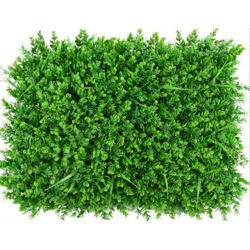 Decorative artificial plant wall boxwood