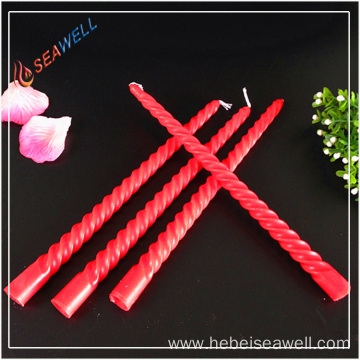 Ordinary daily Wholesale 10 inch spiral candles