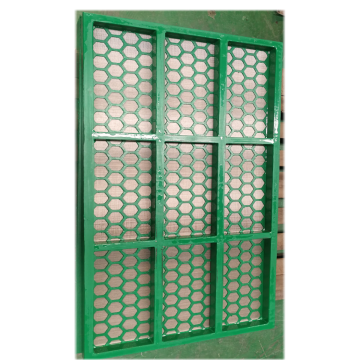 steel frame  Swaco Mongoose  shaker screen