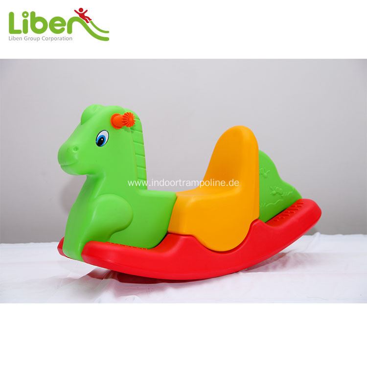 Indoor plastic rocking horse for sale