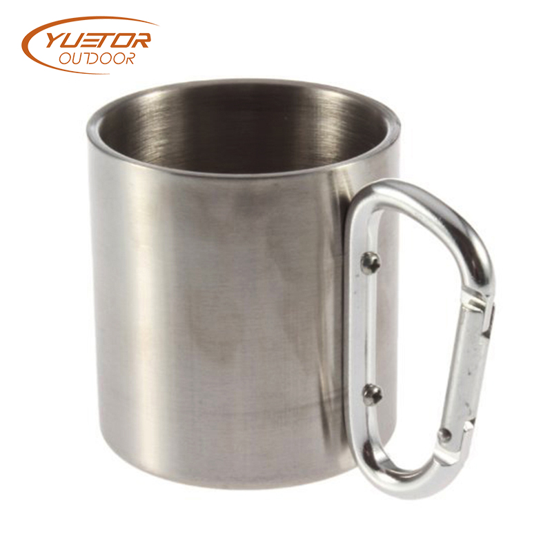 Lightweight Camping Picnic Stainless Steel Double Walled Mug 3
