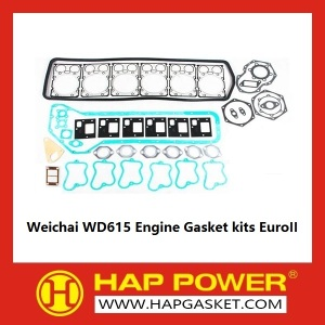 Good Quality for Repair Gasket Set Weichai WD615 Engine Gasket kits EuroII supply to United Kingdom Supplier