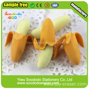 SOODODO Cute Red Long Ears Rabbit Shaped Erasers