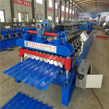 Hot selling trapezoidal cold roll froming machine