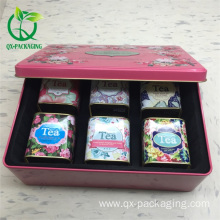 Custom tea tin containers