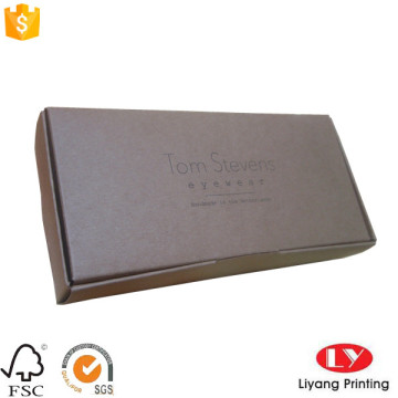 Customized kraft paper one piece folding box