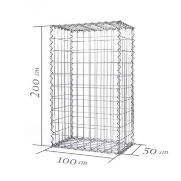 Galvanized Welded Gabion Basket Gabion Box Cage