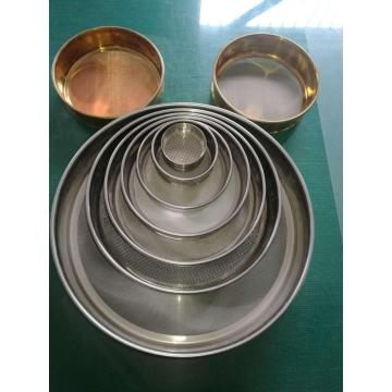 Test Sieve Customized Micron Copper Brass Test Sieve