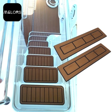 EVA Synthetic Teak Boat CNC Flooring Vehicle Decking