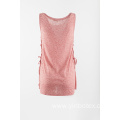 Single jersey sleeveless T shirt