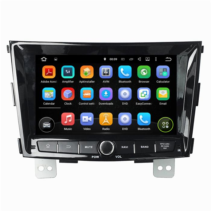 China Ssangyong Android Car Dvd, Ssangyong Android 4.4 Car ... on