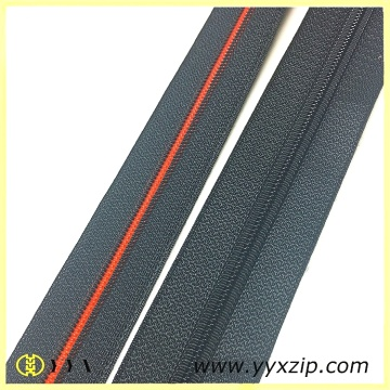 Quality woven spiral continuous zipper for sale