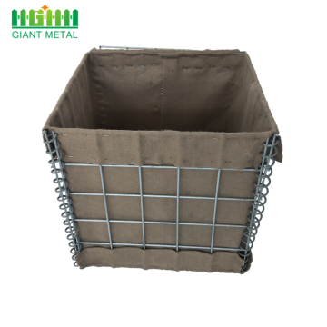 Hesco Welded Wire Mesh Gabion Basket