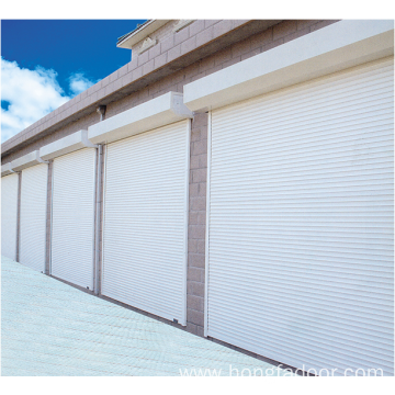 Good Quality for Steel Roller Shutter Safe Door Automatic standard Galvanized Roller Shutter Door supply to Belarus Manufacturers
