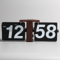 Decorative Black Great Wall Filp Clock