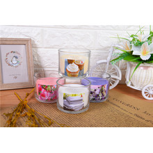 Scented Glass Candle In Gift Box