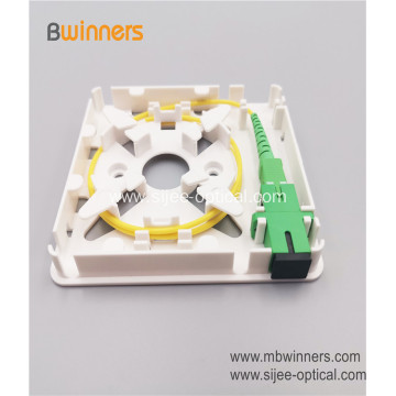1 Core 86 Fiber Socket Panel Fiber Optical FTTH Box