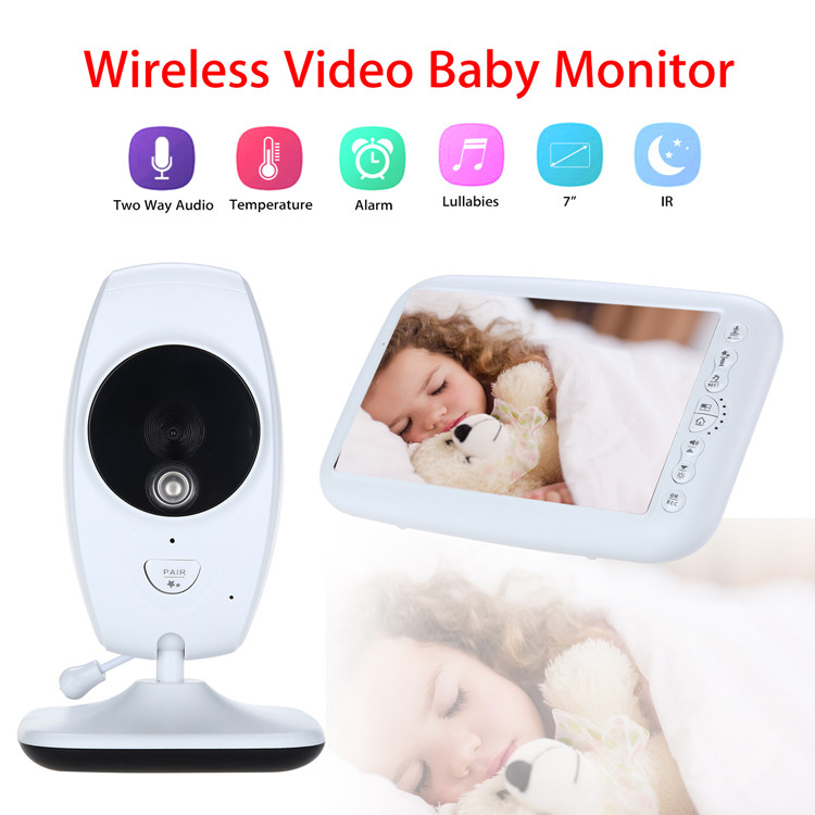 7 screen baby monitor