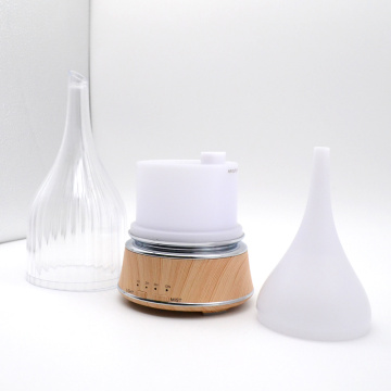 Mist ultrasonic wood baby humidifier diffuser