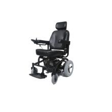 Wheelchair with sofa seat