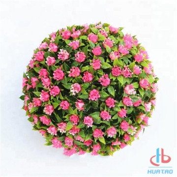 factory customized for Outdoor Artificial Grass Ball Anti-UV Artificial Plant Ball supply to Italy Manufacturer