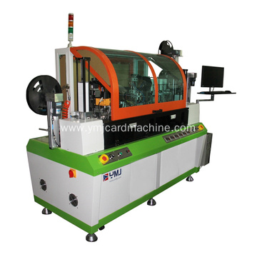Single Core Slot Milling and Chip Welding Machine