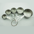 stainless steel 5pcs kitchen measuring spoons