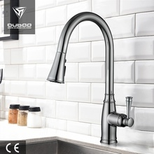 High Arc Swivel Pull Out Kitchen Faucet Taps