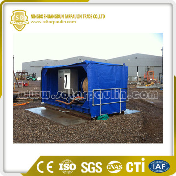 Breathable Cover Machinery Cover Poly Tarpaulin