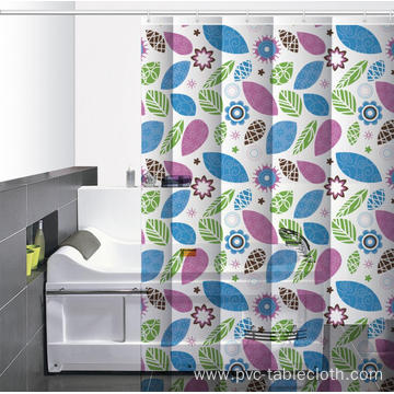 Big W Waterproof Bathroom printed Shower Curtain