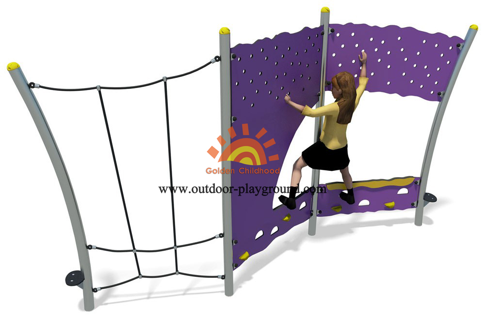 steel panel climber for kids