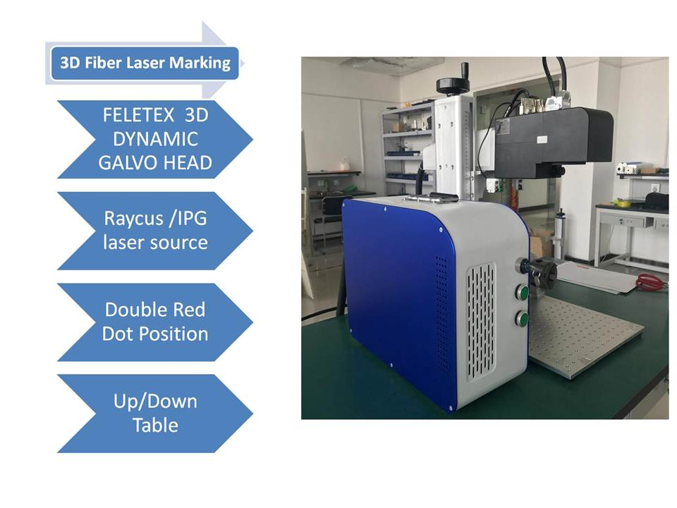 FIBER LASER 3D MARKING MACHINE