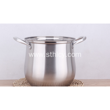 Stainless Steel Soup Pot Double Bottom