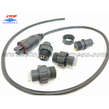 Customized for waterproof wire harness IP68 waterproofing connectors overmolding cable supply to South Korea Importers