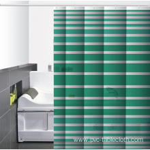 Waterproof Bathroom printed Shower Curtain 108Wide