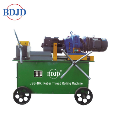 hydraulic two wheels thread rolling machine