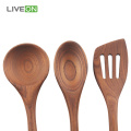 Ash Wooden Spoon Healthy Cooking Set