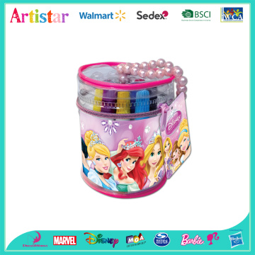 Disney Princess markers barrel