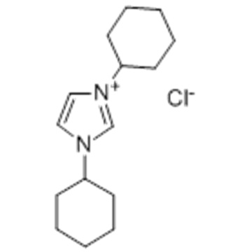 Name: 1,3-Dicyclohexylimidazol-1-ium chloride CAS 181422-72-0