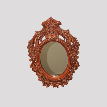 Chinese-style Woodern Carving Mirror Frame