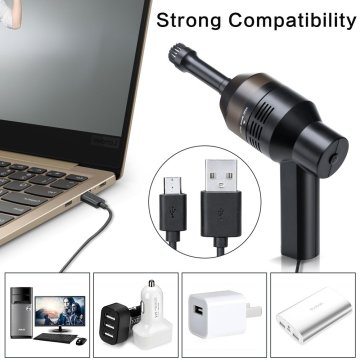 Rechargeable Mini Cordless USB Cleaner for Computer