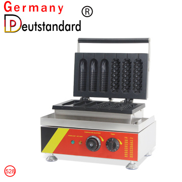 Muffin Hot Dog Stick Maiskolben Siamesische Maschine