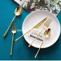 304 Gold Stainless Steel Dinnerware Set