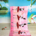 microfiber terry cloth beach towel pineapple wholesale