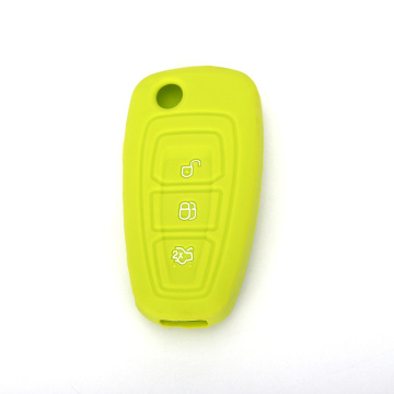 Farebné Ford Focus Silicone Car Key Cover