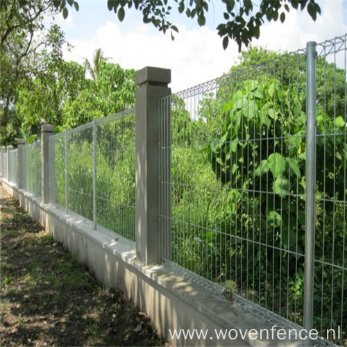 Powder Coated Double Triangle Fence
