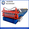 Double Deck IBR And Corrugated Roof Panel Machine