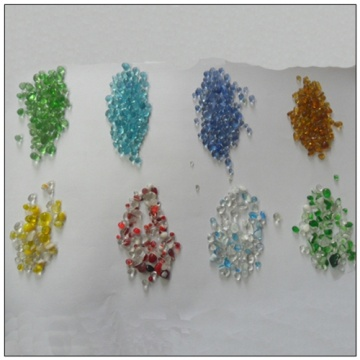 Hot Sale for for Crushed glass sand High Quality Beaded Glass Sand Wholesale export to Mali Importers