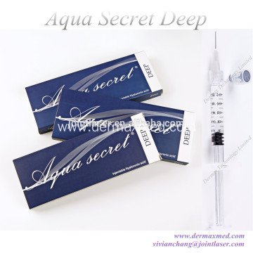 Hyaluronic Injectable Wrinkle Fillers